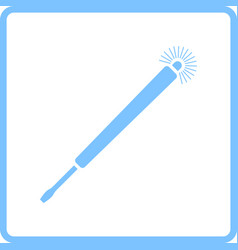 Electricity test screwdriver icon vector