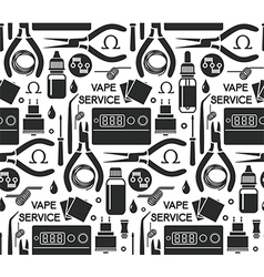 Endless background vape service vector