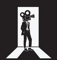 Media company logo vector