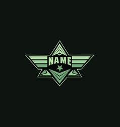 piramide logo symbols image vector image