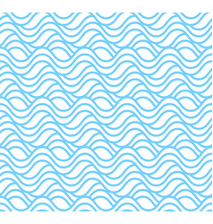 seamless water wave patterns simple seamless beau vector image