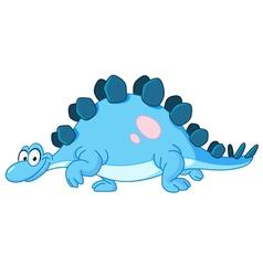 stegosaurus dinosaur vector image