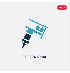 Two color tattoo machine icon from other concept vector