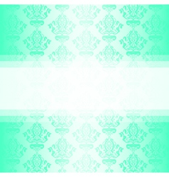 turquoise wallpaper vector image vector image