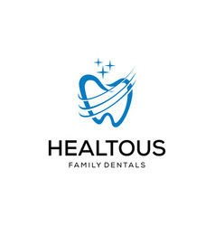 abstract tooth vector image