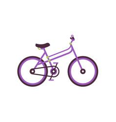 city bike modern bicycle vector image