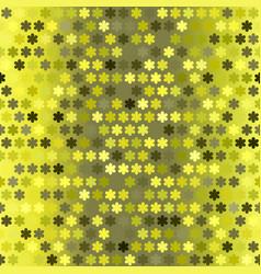 gradient flower pattern seamless vector image