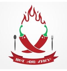 Pepper logo vector image