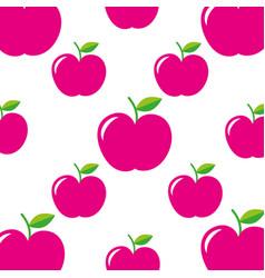 school apple teacher day celebration seamless vector image