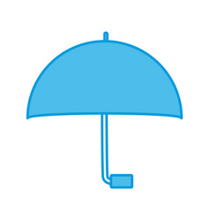 umbrella weather protection vector image