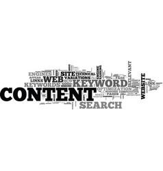 Web content mass keywords links seo text word vector