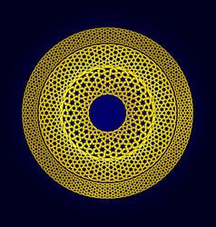 geometric seamless muslim ornament backdrop vector image vector image