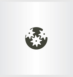 mechanical gear logo icon vector image