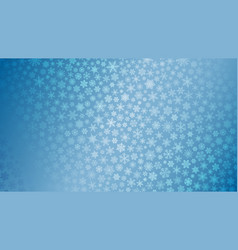 christmas background of small snowflakes vector image vector image