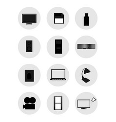 iconstechnology vector image
