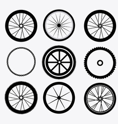 Bike design vector image