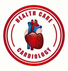 cardiology design vector image