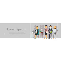 group of business peiople brainstorming meeting vector image