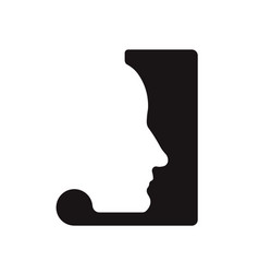 J j logo logotype - english font upper case letter vector