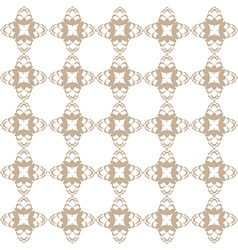 Light brown hop flowers digital seamless pattern vector image