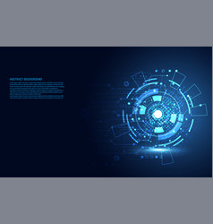 modern abstract technology concept communication vector image