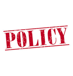 Policy vector
