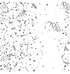 silver texture glitter on a white background vector image