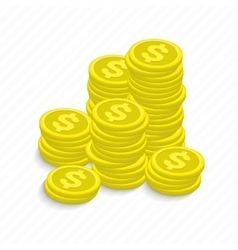 a coin vector image