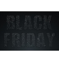 Black Friday Starry dark sky Night shopping vector
