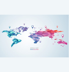 Colourful world vector