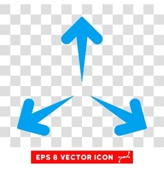 Expand Arrows Round Eps Icon vector