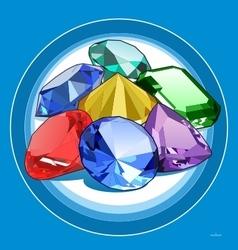 Gems vector