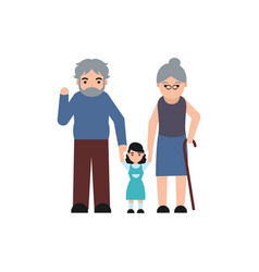 people member family flat image vector image