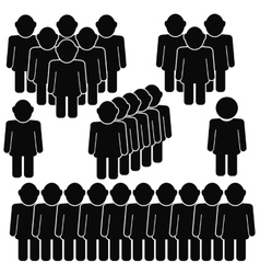 People Talking Icon vector