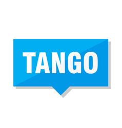 tango price tag vector image