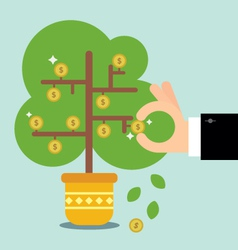 The money tree vector