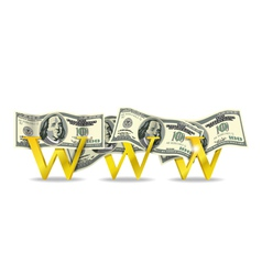 webmoney vector image
