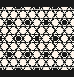 hexagons pattern abstract geometric seamless vector image