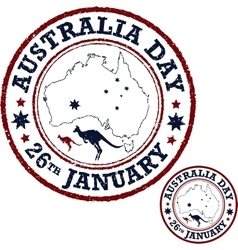 Australia day poster vector image