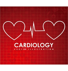 cardiology vector image