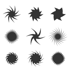Circular icon set vector