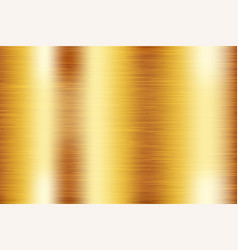 Golden metal background scratched texture vector