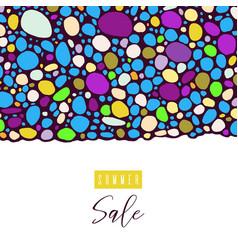 Summer sale lettering inscription special offer vector