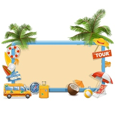 Traveling Board vector image