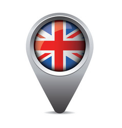 UK pointer flag vector image