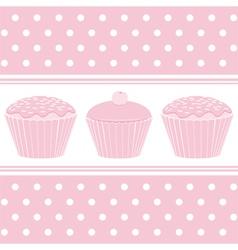 retro baking vector image