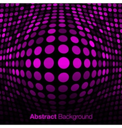 Abstract Pink Technology Background vector