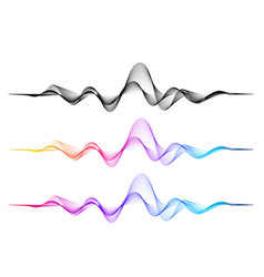 Background with color abstract blend wave vector