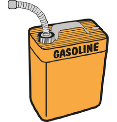 Gasoline fuel over white background vector