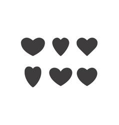 Hearts temp classic vector